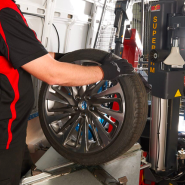 Img tyre replaced